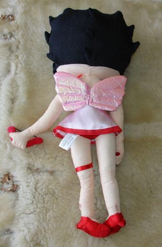 betty boop cupido rosado 42cm. aprox.