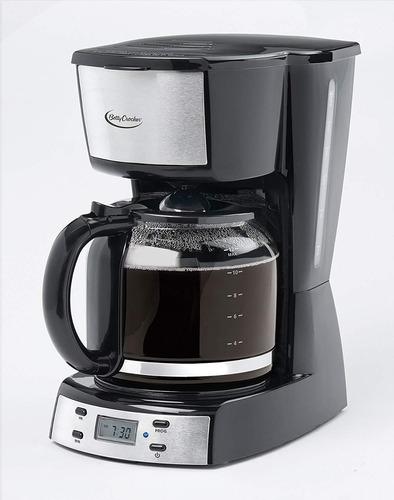 betty crocker bc-2809cb 12 tazas cafetera con digital scr