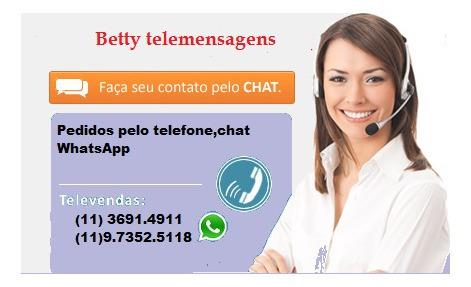 betty telemensagens todo brasil palavras que tocam o coração