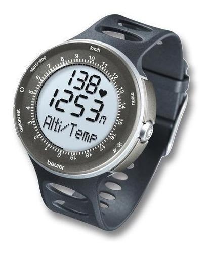 beurer pm90 pulsómetro digital con medición de altitud