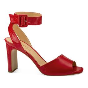 Rojo Zapatos Sandalías 5 Sandalias En 5 Perugia TacónCharol De bmIfyYv7g6