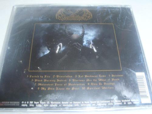 bewitched - spiritual warfare $8.900 nuevo y sellado