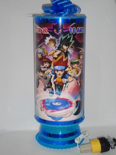 bey blade 10 centrosdmesa lámpara38cm personalizad envío inc