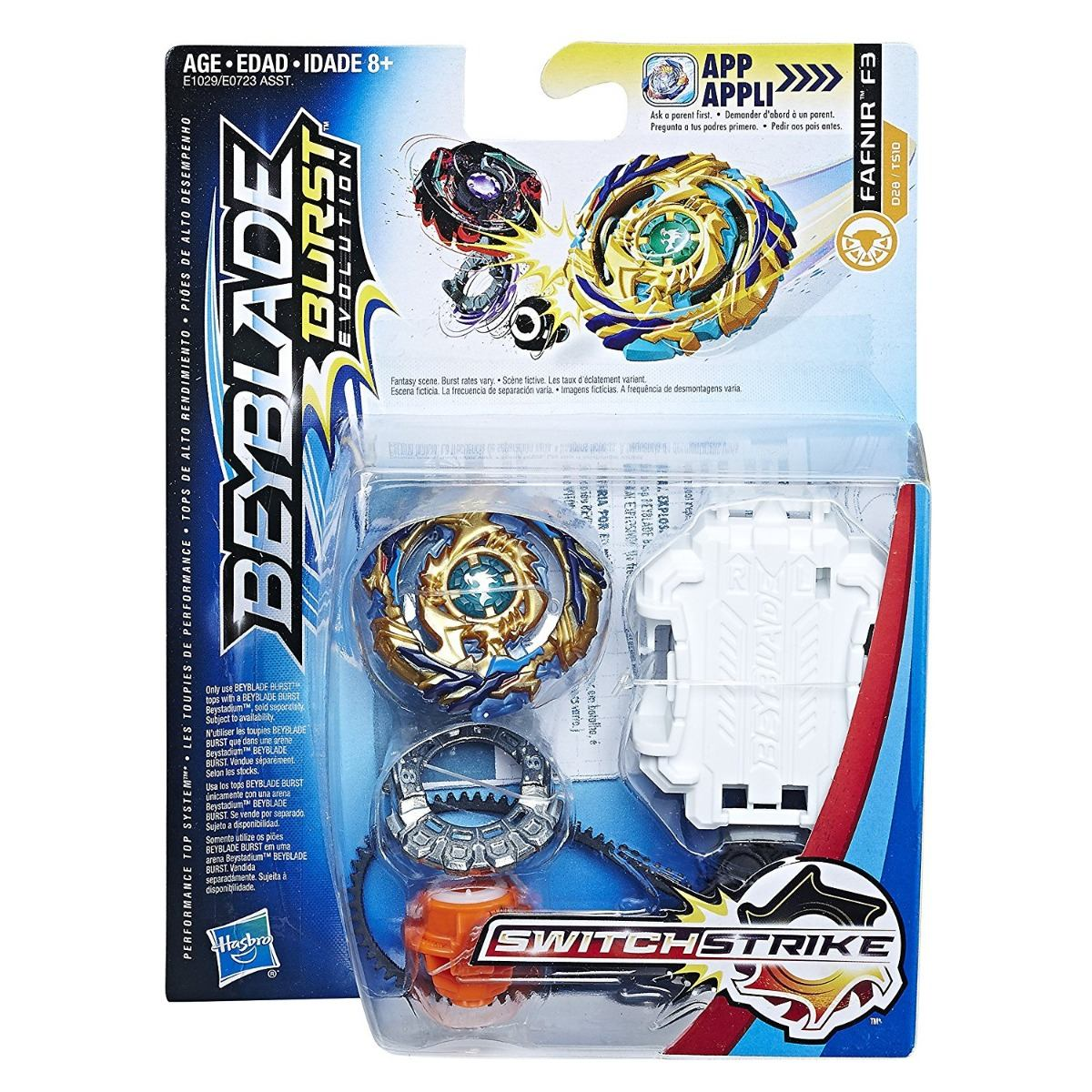 Beyblade Burst Evolution Switchstrike Starter Pack Fafnir