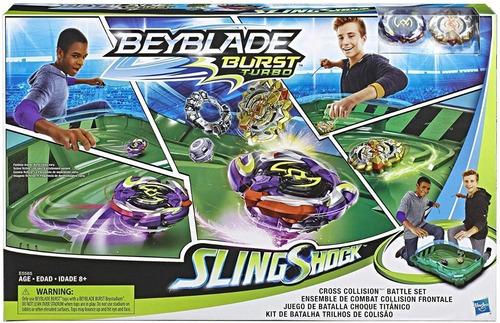 beyblade cross collision set de batalla toy