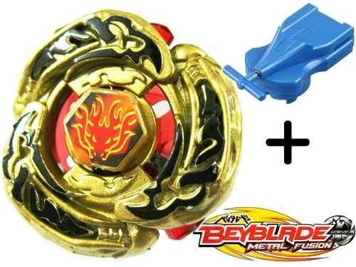 beyblade metal fusion 4d l-drago gold + super lançador