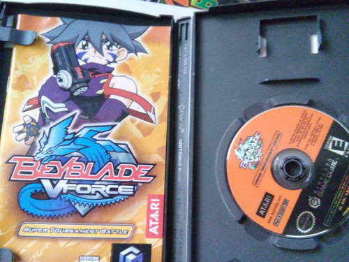 beyblade v force super tournament battle game cube nintendo