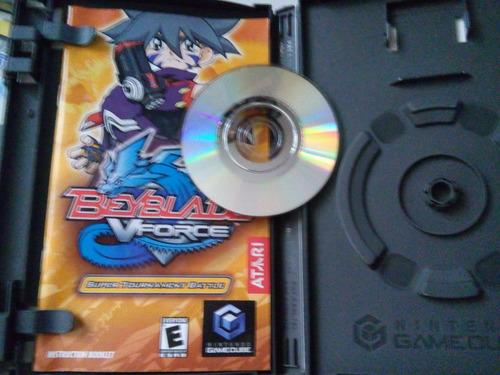 beyblade v force super tournament battle game cube nintendo