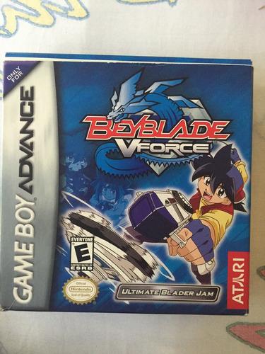 beyblade vforce game boy advanced