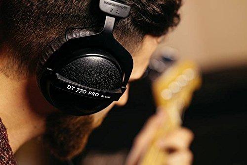 beyerdynamic dt 770 pro 80 ohm auriculares de estudio cer