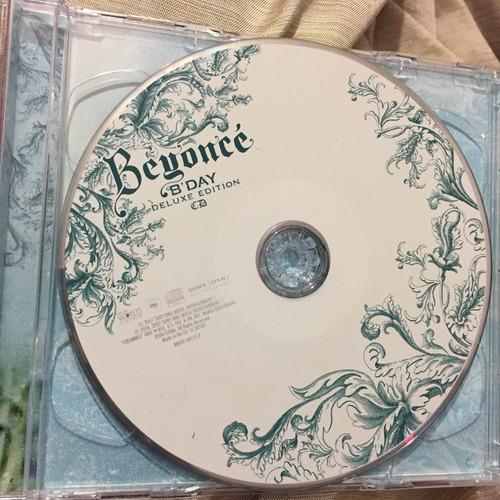 beyoncé b'day deluxe edition cd/dvd importado inglaterra