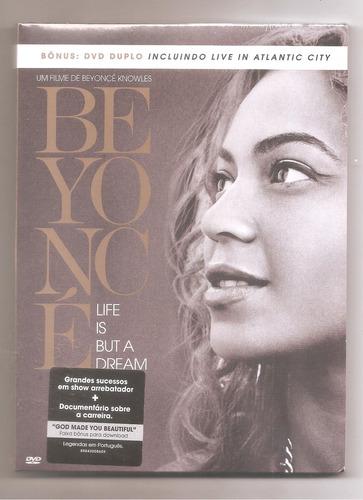 beyoncé - life is but a dream dvd duplo lacrado