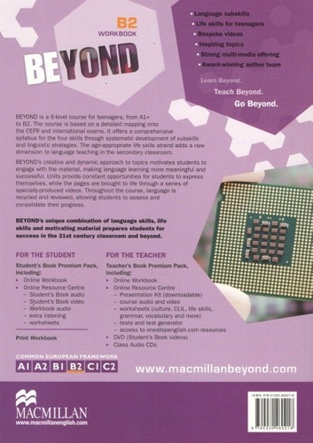 beyond b2 - workbook - macmillan