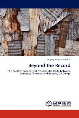 beyond the record; mthembu-salter, gregory envío gratis