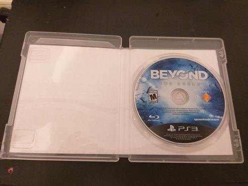 beyond two soulds ps3 físico usado importado de miami