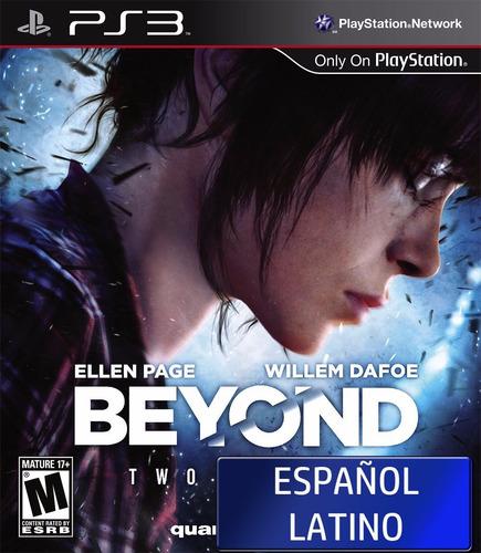 beyond two souls en español latino ps3 fisico disco