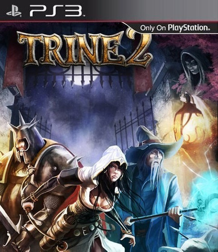 beyond two souls + trine 2, ps3, dgt.
