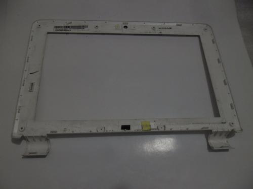 bezel frente marco display netbook asus eeepc 1000ha blanca