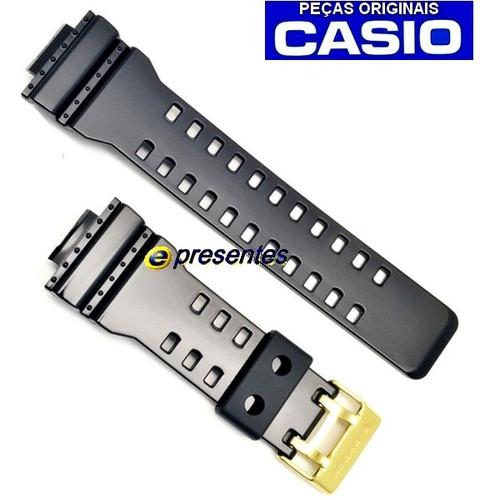 bezel pulseira ga-110gb gd-100gb g-shock original verniz