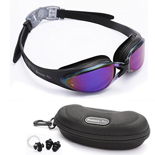 e1c27ed5b3 Bezzee-pro Gafas De Natación De Color Púrpura Adulta... - $ 23.990 ...
