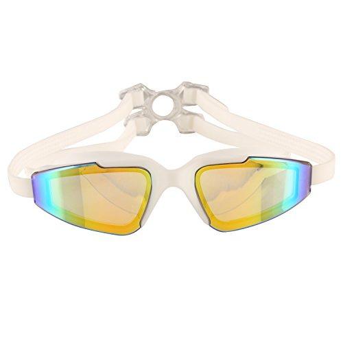 35bb54b32c Bezzee-pro Rainbow Mirror Lens Gafas De Natación Sin Fuga ...