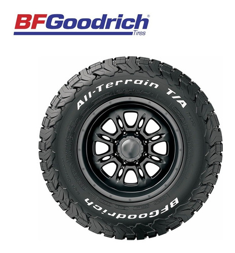 bfgoodrich all terrain ko2 robustez y duración lt265/65r18