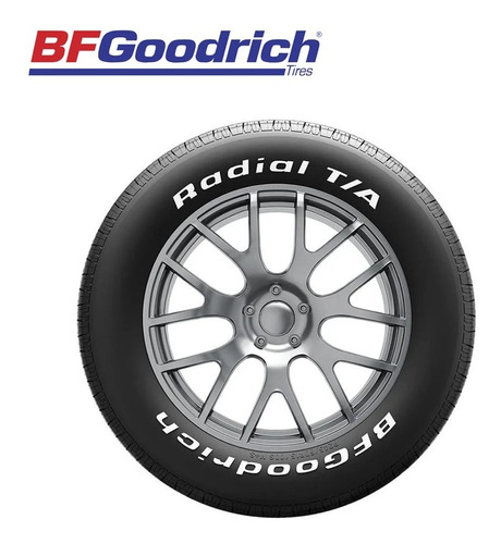 bfgoodrich radial t/a gran estabilidad en curvas p275/60r15