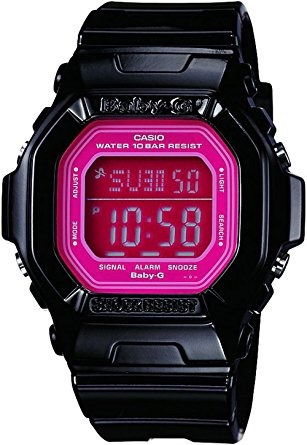 bg dr baby-g square color luminoso reloj digital casio neg
