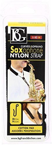 bg s82m curvado saxofón soprano correa para el  envío gratis