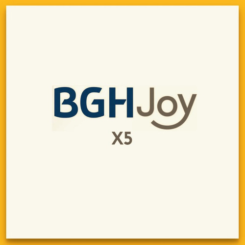 bgh joy x5 smartphone libre android 5.1 red 4g lte 16gb