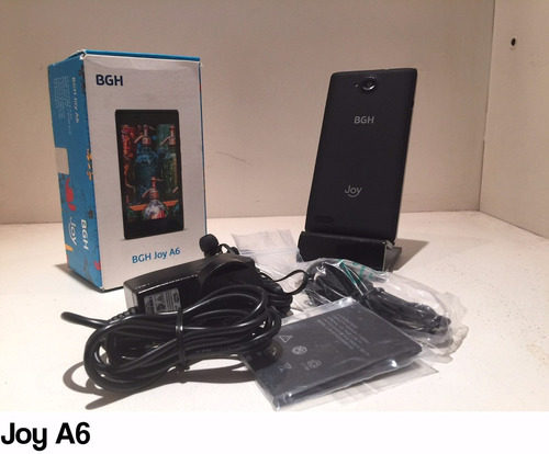 bgh joya6 android ,8mpx ,5 mpx dual core ,4gb tv libres,