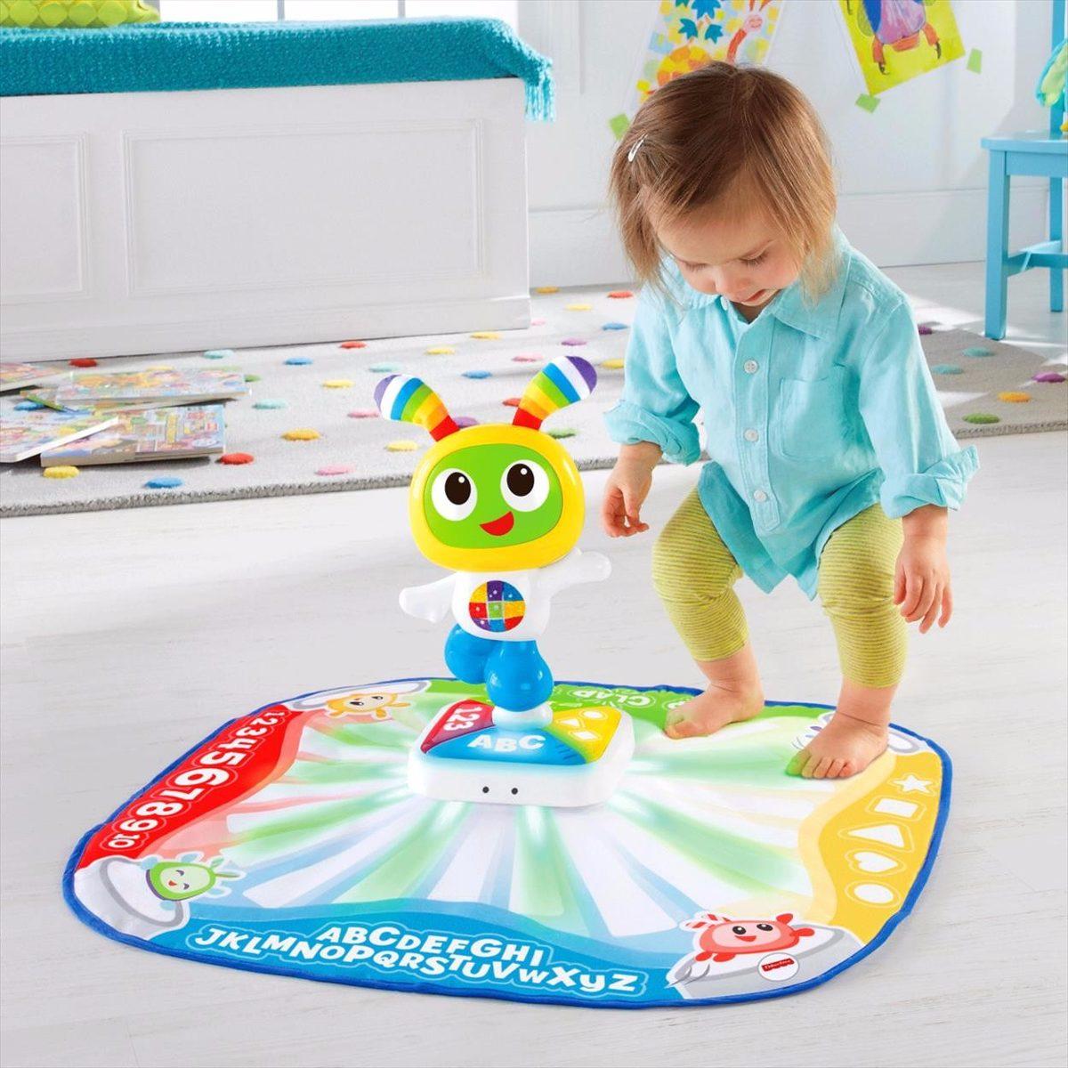 bi bot robot tapete bibot fisher price gimnasio bebe. Black Bedroom Furniture Sets. Home Design Ideas