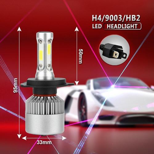 bi-led cree s6 10ma g 32000 lm h4 alta y baja camioneta auto