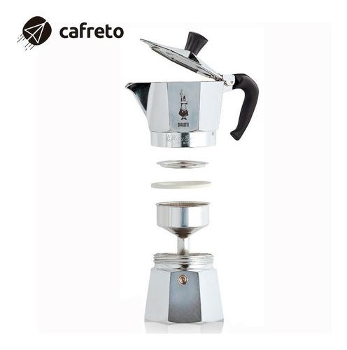 bialetti moka express - cafetera para 6 tazas