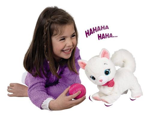 bianca gatita interactiva  camina  juega original tv delmy
