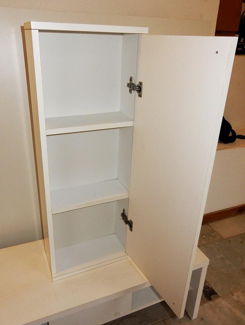 Armario Giratorio Com Espelho Tok Stok ~ Bianco Armário Banheiro Suspenso 1p Tok& Stok (nunca Usado) R$ 210,00 em Mercado Livre
