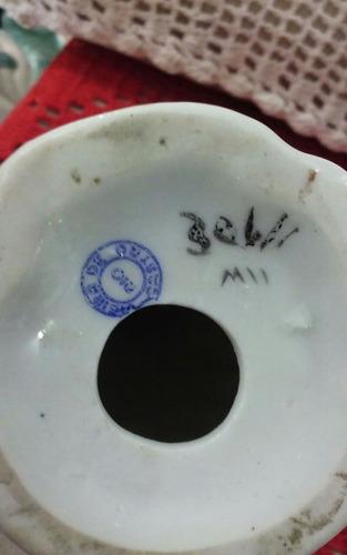 bibelô antigo da porcelana vieira de castro - lç454