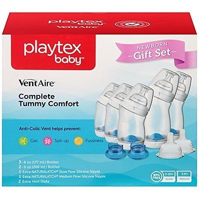 biberón para bebés playtex baby ventaire anti colic, bpa gr