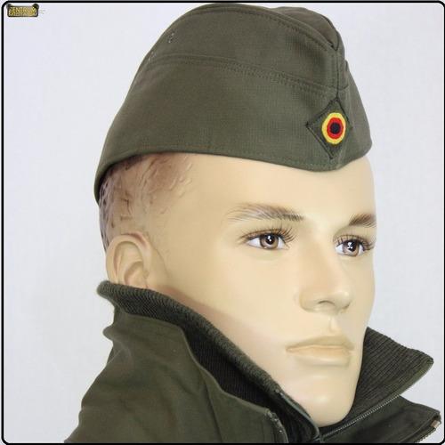 bibico overseas cinza quepe militar alemao bundeswehr