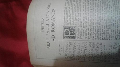 biblia antigua en latin