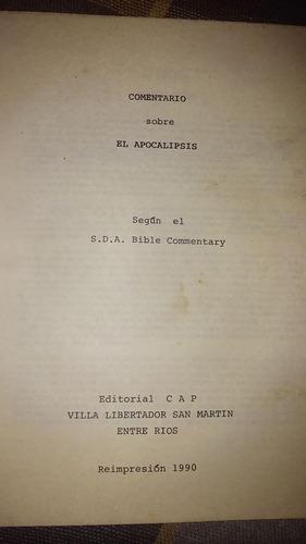 biblia apocalipsis según s.d.a. adventismo
