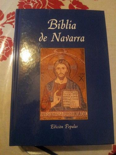 biblia católica de navarra.
