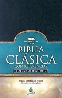 biblia clásica con referencias rv1909  reina valera