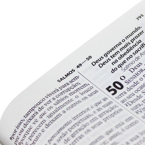 bíblia com harpa letra gigante feminina / masculina cpad sbb