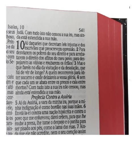 bíblia com harpa letra média feminina e masculina 16 cm