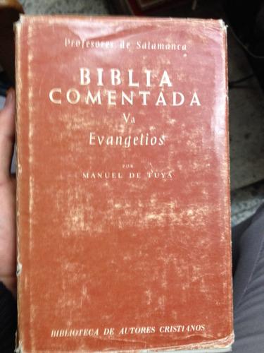 biblia comentada 2 volúmenes