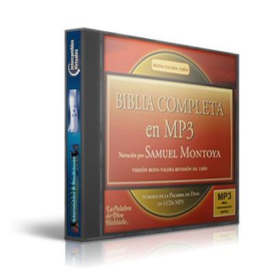 biblia completa en mp3 - rv1960 - narrada por samuel montoya