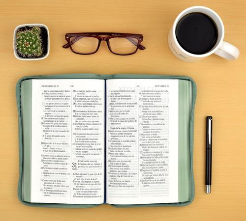 biblia cristiana reina valera 1960 letra grande - rosada