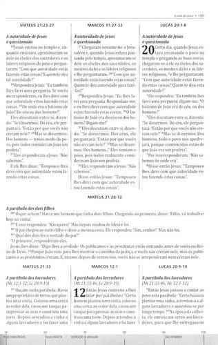 bíblia cronológica integrada nvi capa dura thomas nelson
