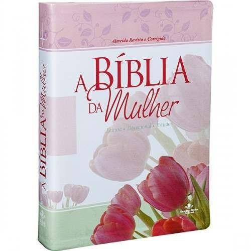 bíblia da mulher grande 17 x 23,5 de estudo almeida rc